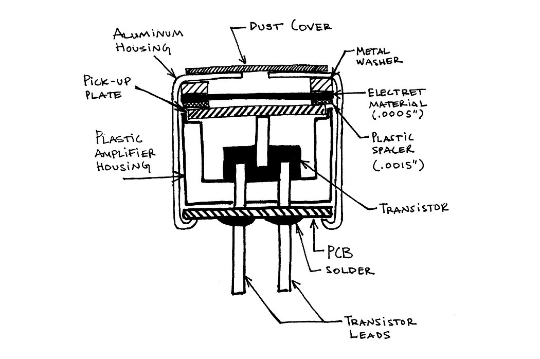 Electret Microphones on pressure switch wiring diagram