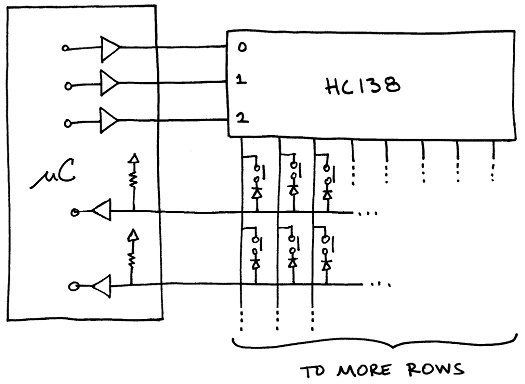 3 to 8 mux schematic