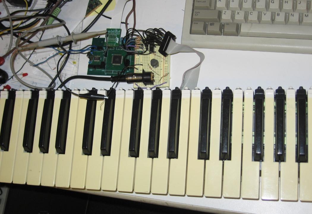 XMEM matrix scanning   Open Music Labs