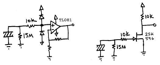 Viewtopic likewise Piezoelectricgenerator in addition Piezos besides Piezo Sensor Circuit in addition Acoustic Guitar Pickup Circuit Diagram. on piezo switch