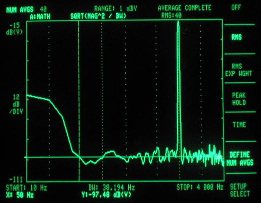 codec shield frequency response